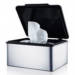Blomus Box na vlhčené ubrousky MENOTO matný nerez