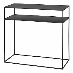 Blomus Konzolový odkládací stolek s poličkou FERA černý
