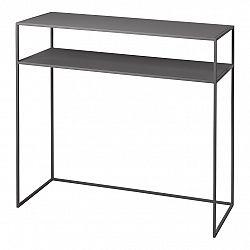 Blomus Konzolový odkládací stolek s poličkou FERA šedý