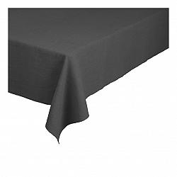 Blomus Lněný ubrus Lineo šedočerný 160 x 300 cm