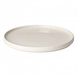 Blomus Mělký talíř PILAR 27 cm, krémový