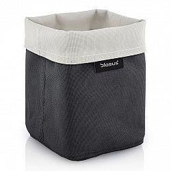 Blomus Oboustranný košík na kosmetické potřeby ARA malý pískový/antracitový