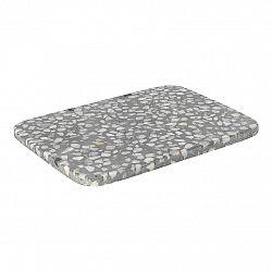 BLOMUS Omeo prkénko 1x20x15cm, šedá směs - 65684