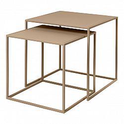 Blomus Set 2 ks konferenčních stolků FERA béžový