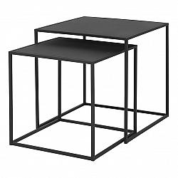 Blomus Set 2 ks konferenčních stolků FERA černý