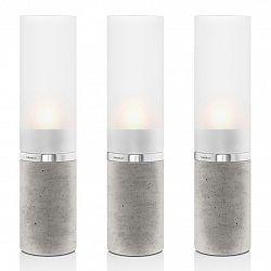 Blomus Set svícnů FARO beton Ø 5 cm