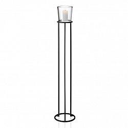 Blomus Stojací kruhový svícen v nordickém stylu NERO 138 cm