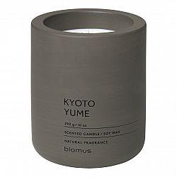 Blomus Vonná svíčka ze sójového vosku FRAGA tmavě hnědá Ø 9 cm