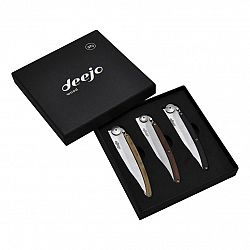 Deejo DEE002 Sada 3 nožů Wood 37g