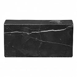 držák na svíčku mramorový černý BLOC BLOMUS