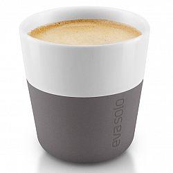 Eva Solo Termošálky na espresso 80 ml 2 kusy šedé