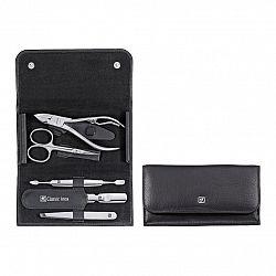 Manikúra 5dílná ZWILLING® Classic Inox černá s kleštěmi na nehty