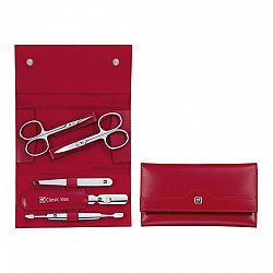 Manikúra 5dílná ZWILLING® Classic Inox červená