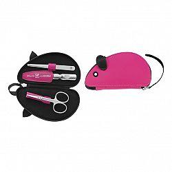 Manikúra pro děti 3dílná růžová ZWILLING® Classic Inox