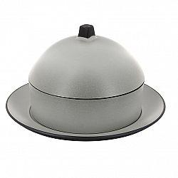 REVOL Dim sum set - parník/napařovač s talířem a poklopem pepřová bílá Equinoxe