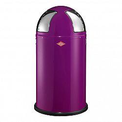 Wesco Odpadkový koš Push two 50 l (2x 25 l) ostružinový