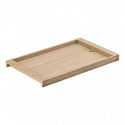ZONE Dřevěný servírovací podnos dub 42 x 26 cm SILVA