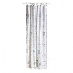 ZONE Sprchový závěs 180 x 200 cm dusty green HARLEQUIN
