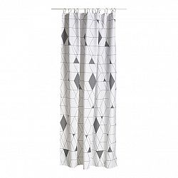 ZONE Sprchový závěs 180 x 200 cm grey HARLEQUIN