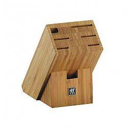 ZWILLING Blok na nože zkosený bambusový na 7 kusů