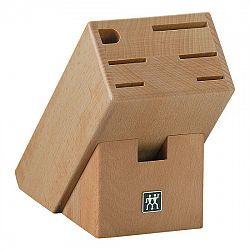 ZWILLING Blok na nože zkosený dřevěný na 7 kusů