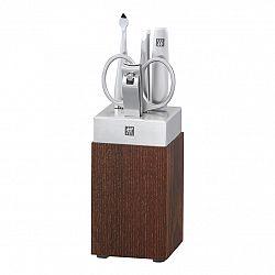 ZWILLING Manikúra se stojanem dřevo/porcelán 5dílná TWINOX® Spa
