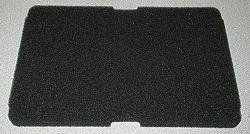 Molitanový filtr pro boxy bez síťky